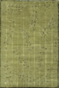 Modern Silk And Wool Rug CC0952
