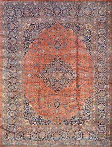 Persian Antique Kshan Rug CC1017
