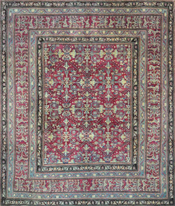 Indian Antique Agra Rug CC1024