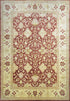 "Indian Wool Rug > Design # 1020 > 9'-9"" X 14'-3"""