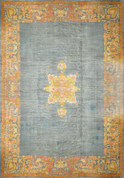 Antique Turkish Oushak Rug CCA-091