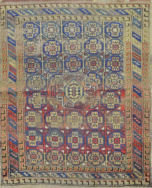 Antique Caucasian Rug CC1505