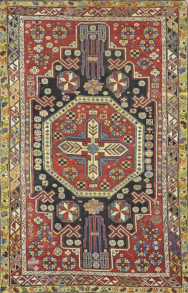 Antique Caucasian Kuba Rug SNA 003