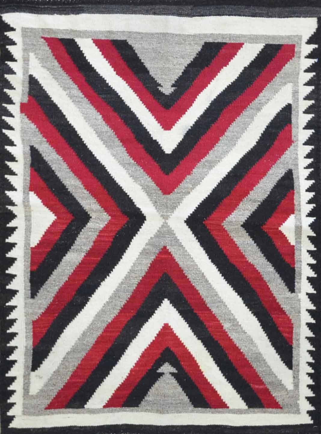 Handmade Old American Indian Navajo Rug Cc1843 On Sale At Carpet