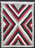 "Old American Indian Navajo Rug > Design # 1244 > 3'-1"" X 4'-1"""