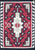 Old American Indian Navajo Rug CC1854