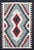 Old American Indian Navajo Rug CC1858