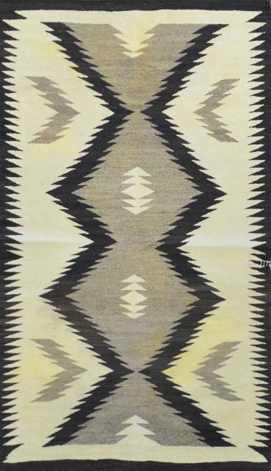 Handmade Old American Indian Navajo Rug Cc1868 On Sale At Carpet
