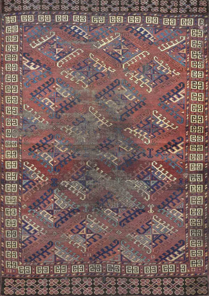 Old Turkman Rug CC2105