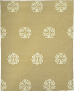Anaar Cotton Dhurrie Camel White 2457C