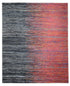 "Indian Red Black Shade Saree Silk Rug > Design # 1837 > 8' - 0"" X 10' - 1"""