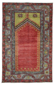 Old Turkish Kilim Rug - K KL-103