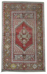 Old Turkish Kilim Rug - K KL-106