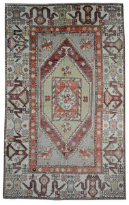 Old Turkish Kilim Rug - K KL-92