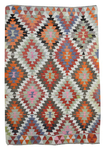 Old Turkish Kilim Rug - K KL-107