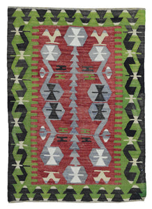 Old Turkish Kilim Rug - K KL-119