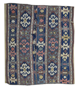 Old Turkman Rug U2630-T