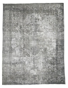 Distressed Tempie Vintage Overdyed Rug S32017