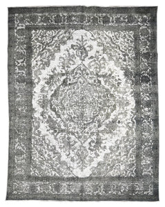 Distressed Delia Vintage Overdyed Rug S32020