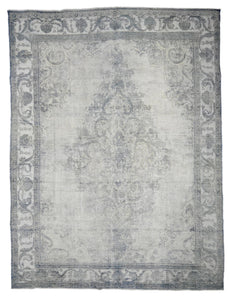 Distressed Olenick Vintage Overdyed Rug S32019