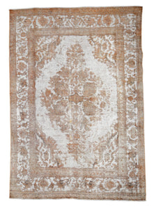 Distressed Magen Vintage Overdyed Rug S32008