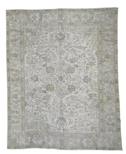 Distressed Layman Vintage Overdyed Rug S32022