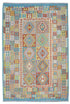 "New Afghani Kilim Rug > Design # 1986 > 6'-8"" X 9'-8"""