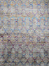 "Handmade Modern Indian Rana Saree Silk Rug > Design # 2132 > 8' - 11"" X 11' - 10'"""