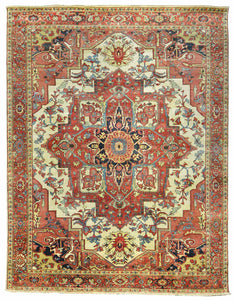 Persian Heriz Design Wool Rugs Z3078