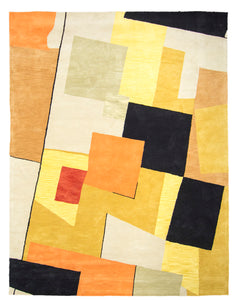 Modern Wool Tufted Rug Z3101