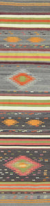 Turkish Old Kilim Runner-k K-029