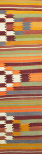 Turkish Old Kilim Runner-k K-068