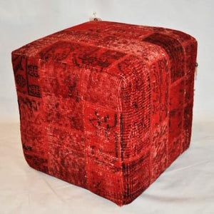 Turkish Vintage Over Dyed Ottoman OC02