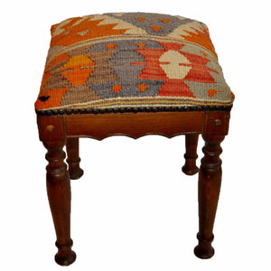 Kilim Foot Stool-OC-09 OC09