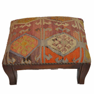 Kilim Foot Stool-OC-15 OC15