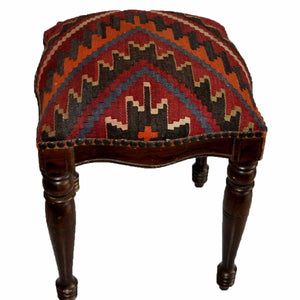 Kilim Foot Stool-OC-23 OC23