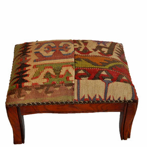 Kilim Foot Stool-OC-24 OC24