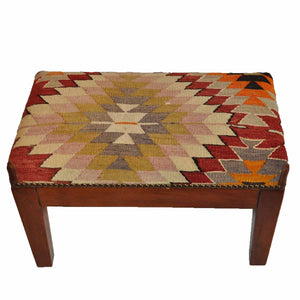 Turkish Vintage Kilim Bench-OC-29 OC29