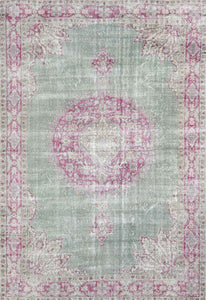 Turkish Vintage Over Dyed Rug OD 034