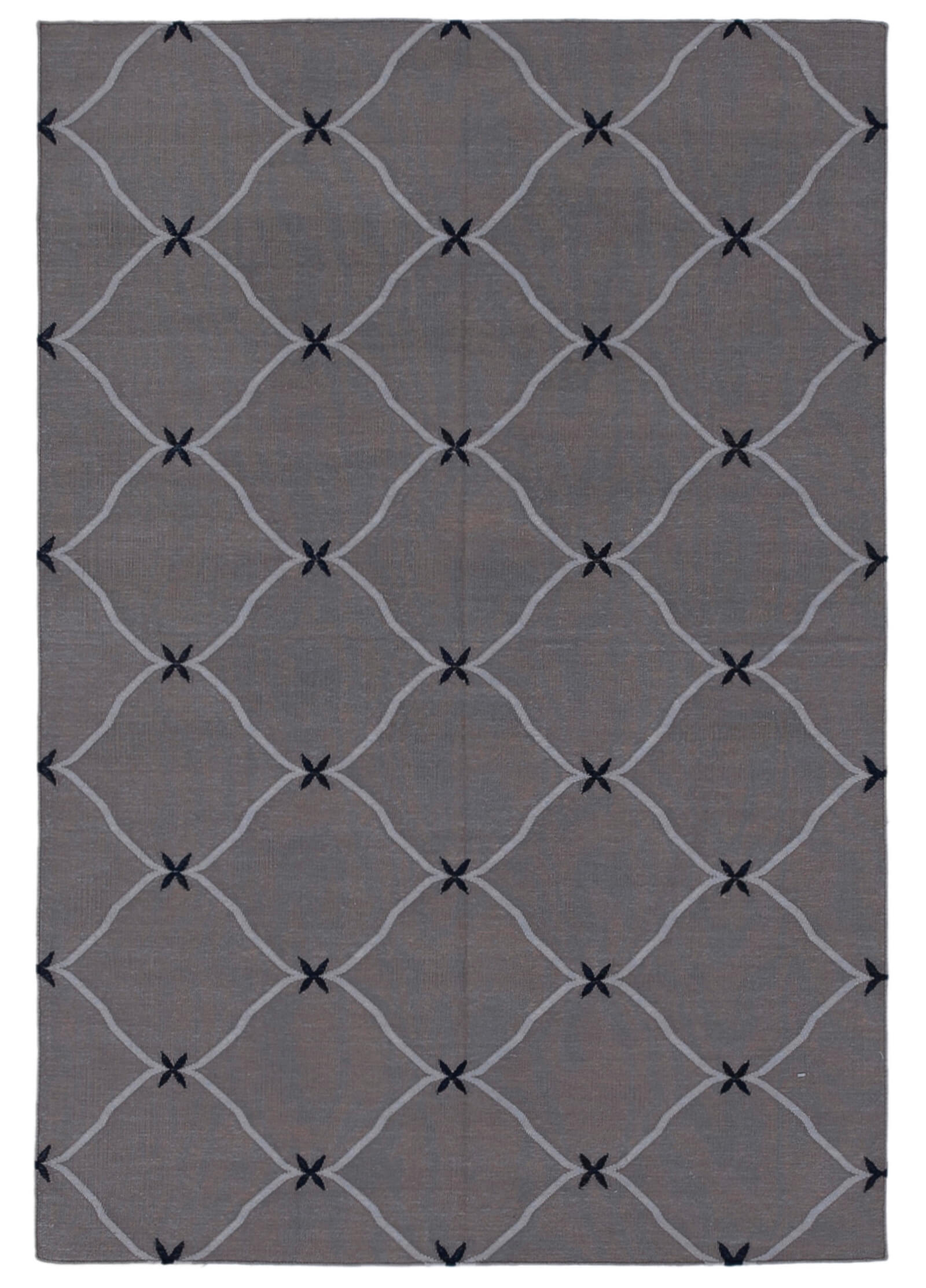 Handmade High Quality Kilim Dhurrie Multicolor Rug Design 32570 Size 3 7 X 5 4 Online Only