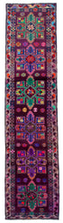 "Handmade Turkish Runner Multicolor Boho Rug > Design# 32855 > Size: 3'-3"" x 12'-8"" [ONLINE ONLY]"