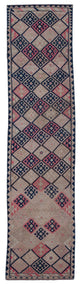 "Handmade Turkish Runner Beige Boho Rug > Design# 32866 > Size: 2'-9"" x 12'-4"" [ONLINE ONLY]"