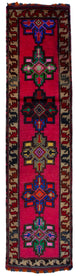 "Handmade Turkish Runner Red Boho Rug > Design# 32879 > Size: 3'-1"" x 12'-4"" [ONLINE ONLY]"