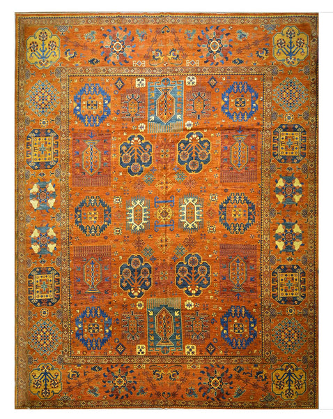 New Afghani Decorative Tribal Rug Z3183 NMC14679