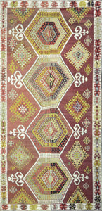 Old Turkish Kilim Rug - K KL-15