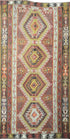 "Old Turkish Kilim Rug - K > Design # 1576 > 6'-5"" X 12'-4"""