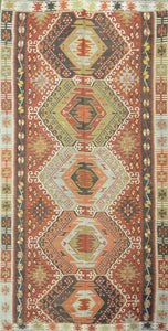 Old Turkish Kilim Rug - K KL-22