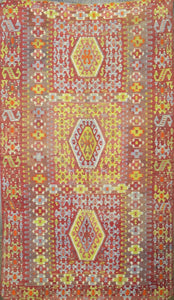 Old Turkish Kilim Rug - K KL-24