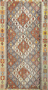Old Turkish Kilim Rug - K KL-6