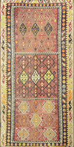 Old Turkish Kilim Rug - K KL-7